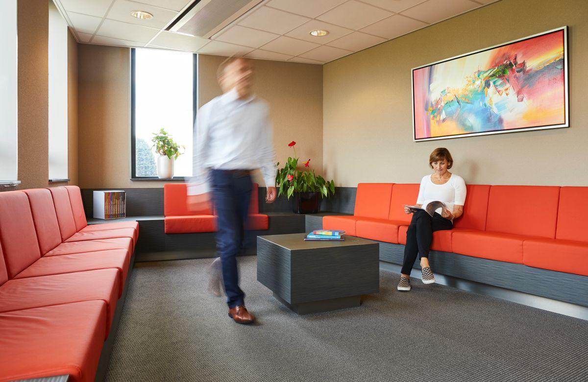 wachtkamer notariskantoor Het Notarieel